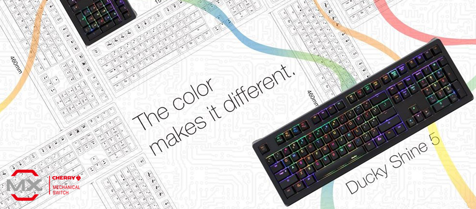 Ducky Shine 5 – Plug Ducky Play RGB