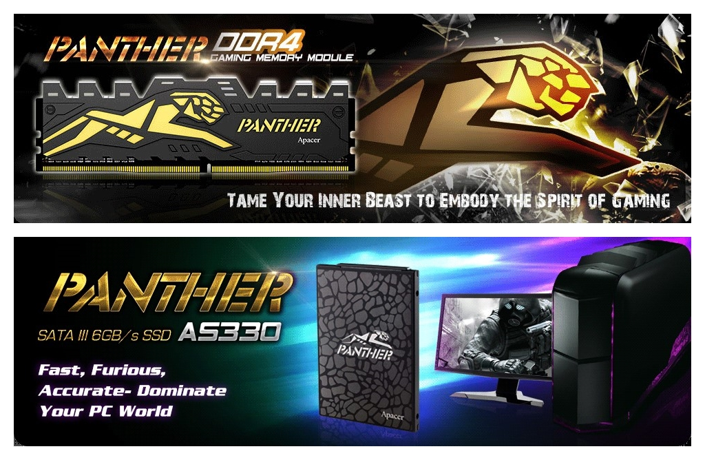 PANTHER DDR4 & SSD