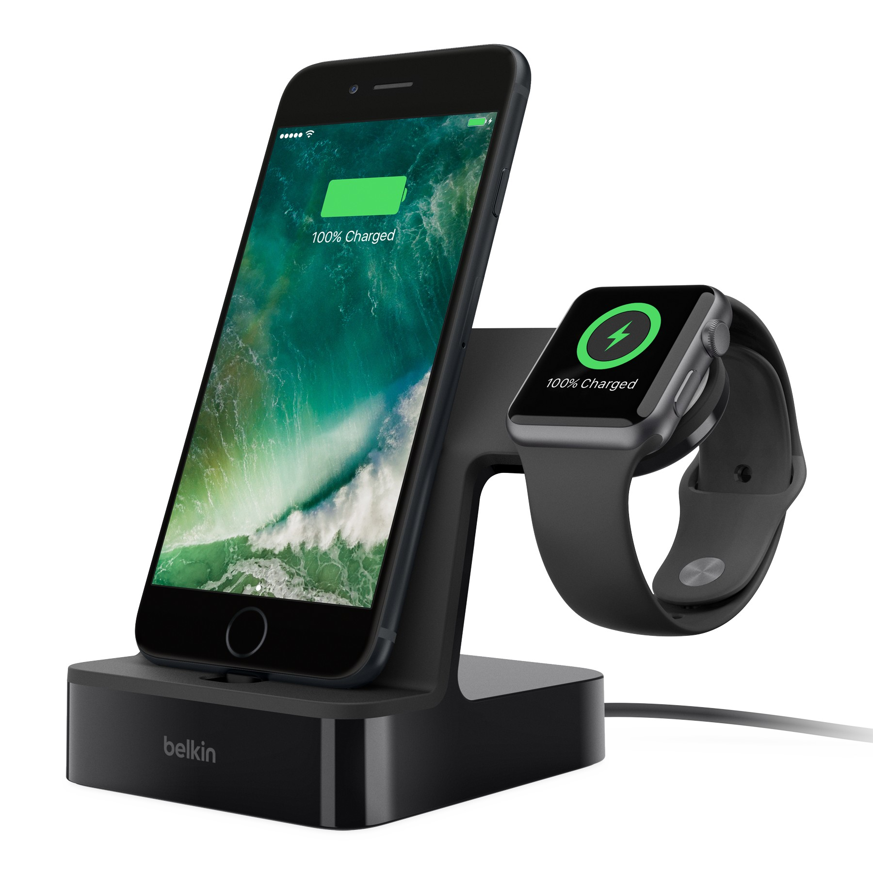 PowerHouse™ Charge Dock for Apple Watch + iPhone แท่นชาร์จ Apple Watch และ iPhone
